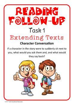 Fiction Follow-up Reading Tasks: Set 2