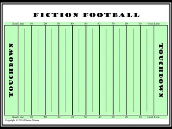 Literary Terms Fiction Football Game