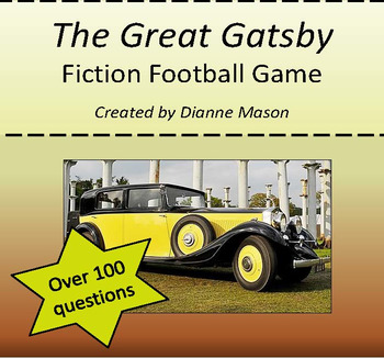The Great Gatsby Fiction Football Game