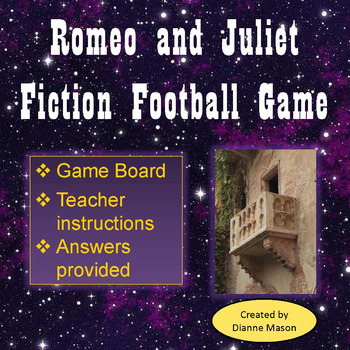 Romeo and Juliet Fiction Football Game