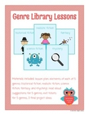 Fiction Genre Library Lessons