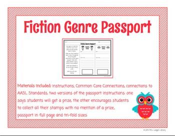 Fiction Genre Passport
