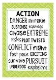Fiction Genre Posters: Action