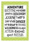 Fiction Genre Posters: Adventure