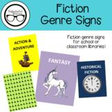 Fiction Genre Signs
