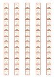 Fiction Genre Spine Labels: Diaries - Avery A4 L7651