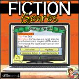 Fiction Genres Boom Cards: Digital Task Cards