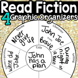 Fiction Graphic Organizer 4 set