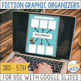 Fiction Graphic Organizers for use with Google Drive- Dist