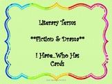 Fiction I Have...Who Has