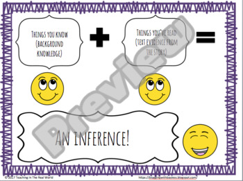 Fiction Inference Cards