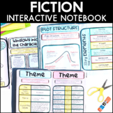 Fiction Interactive Notebook - Bundle | Distance Learning