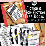 Interactive Notebook Pages- Multiple Flap Books for Fiction & Non-Fiction