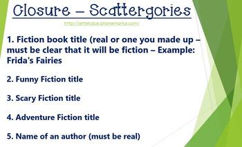 Fiction Intro Ppt. - Editable