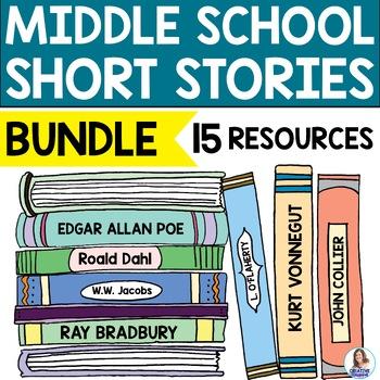 Short Story Growing Bundle for Middle School ELA