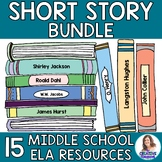 Short Story Growing Bundle for Middle School ELA