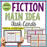 Fiction Main Idea Task Cards
