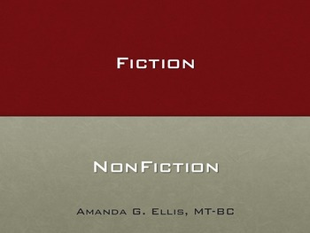 Fiction, Non-Fiction
