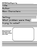 Fiction/Non-Fiction Book Report