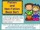 Fiction & Non-Fiction Book Sort