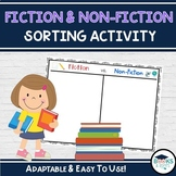 Fiction & Non-Fiction Book Sorting Activity