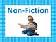 Fiction Non-Fiction Posters