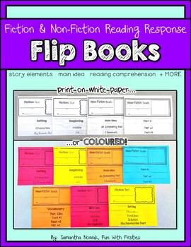 Fiction & Non-Fiction Reading Comprehension Flip Books