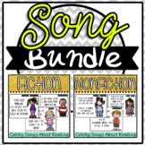 Fiction Non Fiction Song Poem Bundle Posters #springbackin