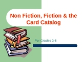 Fiction, Non-Fiction and the Card Catalog