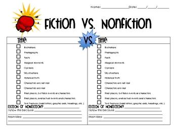 Fiction & Non-fiction Mini-Unit