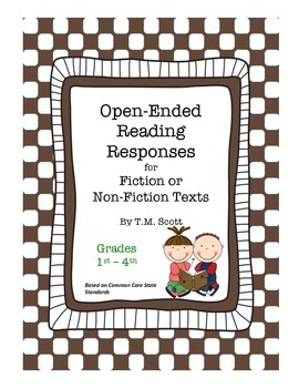 Fiction & Non-fiction Reading Responses for Young Readers