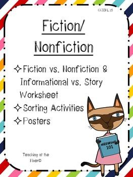 Fiction & Nonfiction Activities