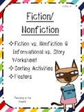 Fiction & Nonfiction Activities