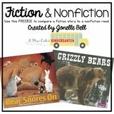 Fiction & Nonfiction Book Comparison FREEBIE