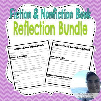 Fiction & Nonfiction Book Reflection