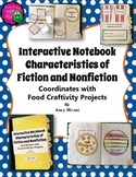Fiction & Nonfiction Elements Interactive Notebook