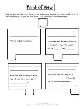 Fiction & Nonfiction Elements Interactive Notebook