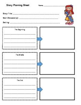 Fiction & Nonfiction Planning Sheets *Reproducible