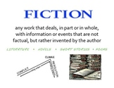 Fiction & Nonfiction Poster