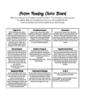 Fiction & Nonfiction Reading Choice Boards