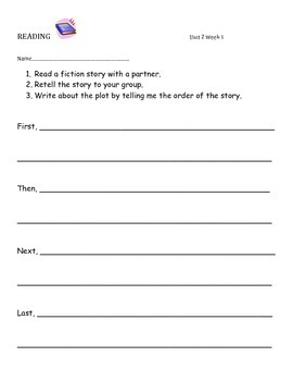 Fiction & Nonfiction Reading Response