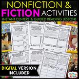 Fiction & Nonfiction Reading Response | Graphic Organizers