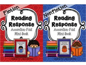 Fiction & Nonfiction Reading Responses ~ Accordion-Fold Mi