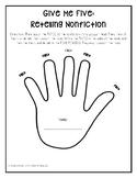 """Fiction & Nonfiction Retelling """"Glove"""""""
