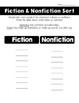 Fiction & Nonfiction Sort