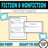 Fiction & Nonfiction Twitter Tweets