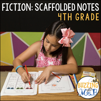 Fiction Notes for Kids, Teachers, and Notebooks