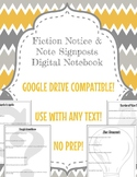 Fiction Notice & Note Signposts Digital Notebook