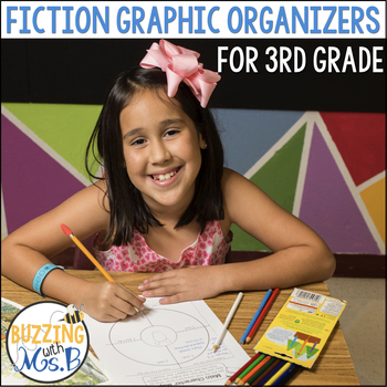 Fiction Graphic Organizers, Printables, and Responses for teaching fiction