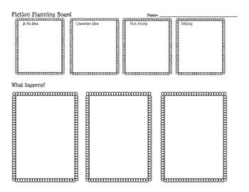 Fiction Planning Board